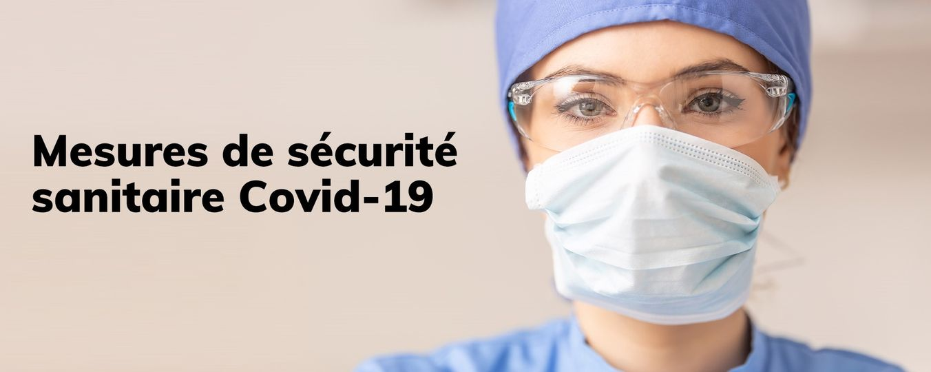 Mesures de sécurité covid-19